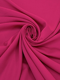 BUY THE PIECE 1 yard Cobalt 100% Silk Satin-Faced Organza - Imported From Japan - 42W