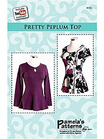 Pamela's Patterns - Pretty Peplum Top #114