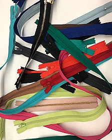 Closed-end Zipper Assortment - Qty of 20