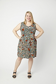 Cashmerette Patterns - Webster Top & Dress #2103 - Sizes 12-28