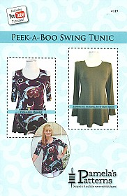 Pamela's Patterns - Peek-a-Boo Swing Tunic #119
