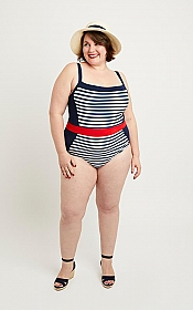 Cashmerette Patterns - Ipswich Swimsuit One-Piece & Bikini #7101 - Sizes 12-28 Cup Sizes C-H