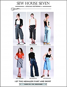 Sew House Seven Patterns - The Nehalem Pant And Skirt - Sizes XS - XXL