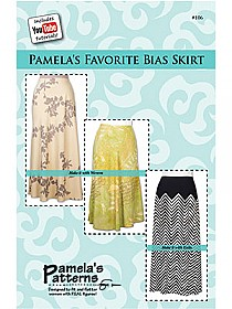 Pamela's Patterns - Pamela's Favorite Bias Skirt Pattern - #106