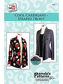 Pamela's Patterns - Cool Cardigans Draped Front Pattern - #110