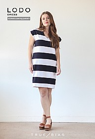 True/Bias - Lodo Dress - Sizes 0-18