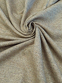 Oat/Tan/Sage Silk/Linen Wide Twill Suiting - Imported From Italy - 59W