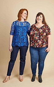 Cashmerette Patterns - Montrose Top #2104 - Sizes 12-28