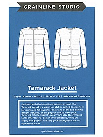 Grainline Studio Patterns - Tamarack Jacket #16002 - Sizes 0-18