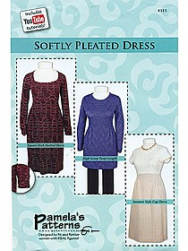 Pamela's Patterns - Softly Pleated Dress #115