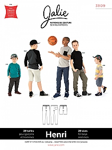 Jalie Patterns - Henri Joggers and Shorts - Men/Boys Sizes #3909