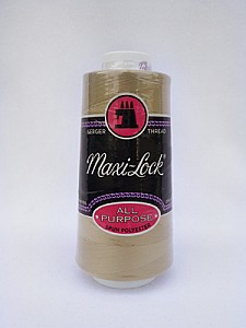 Khaki Serger Thread Maxi-Lock Serger Thread 3000 Yards