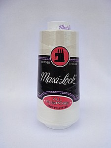 Eggshell Maxi-Lock Serger Thread 3000 Yards