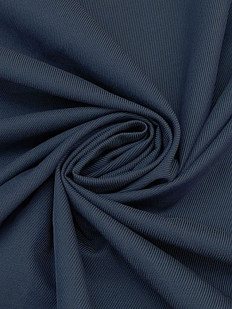 Navy 100% Cotton Raised Twill Woven 62W