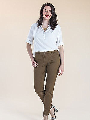 Closet Case Patterns - Sasha Trousers #13 - Sizes 0-20