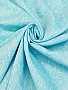 Medium Sky Blue/White 100% Linen Light-Weight Yarn-Dyed Chambray Linen 58W